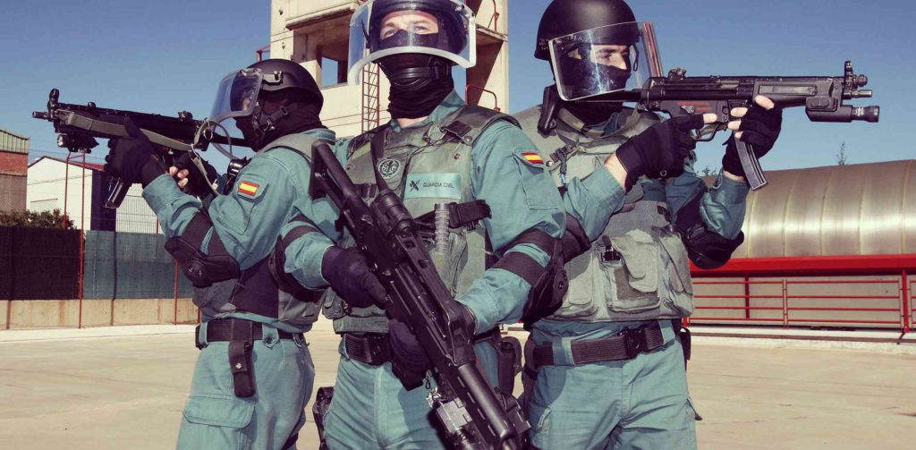 guardia civil especialidades
