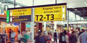 agente área movimiento aeropuerto