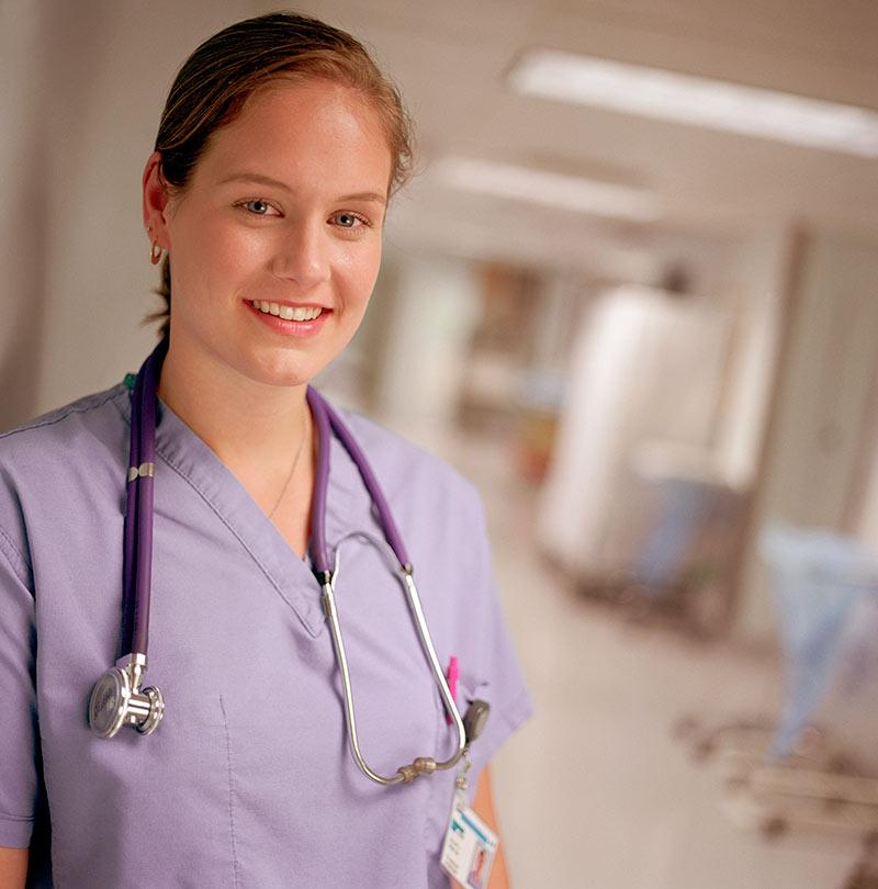 Enfermera en Reino Unido