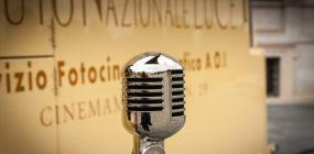 Micrófono de actor de doblaje