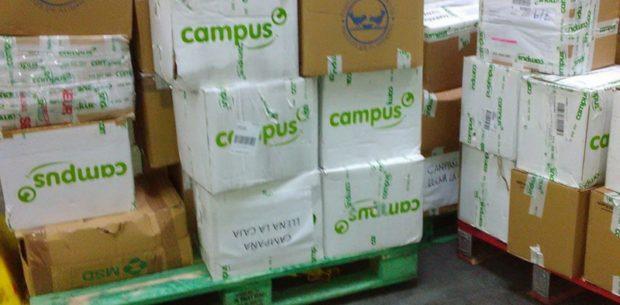 Campus Training campaña recogida aliementos