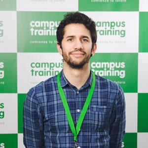 adan-ponton - parte del equipo de Campus Training