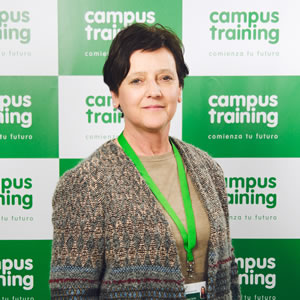 carmen-requejo - parte del equipo de Campus Training