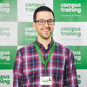 david-novo - parte del equipo de Campus Training