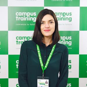 flavia-de-andres - parte del equipo de Campus Training