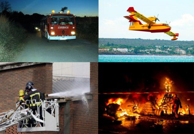 funciones de los bomberos