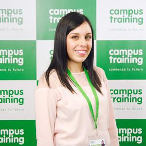 lucia-canedo - parte del equipo de Campus Training