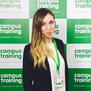Mireia - parte del equipo de Campus Training