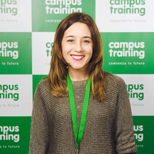 patricia-vazquez - parte del equipo de Campus Training