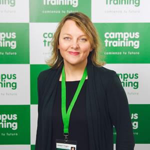 raquel-dieguez - parte del equipo de Campus Training