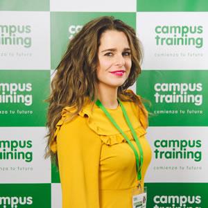 Susana - parte del equipo de Campus Training