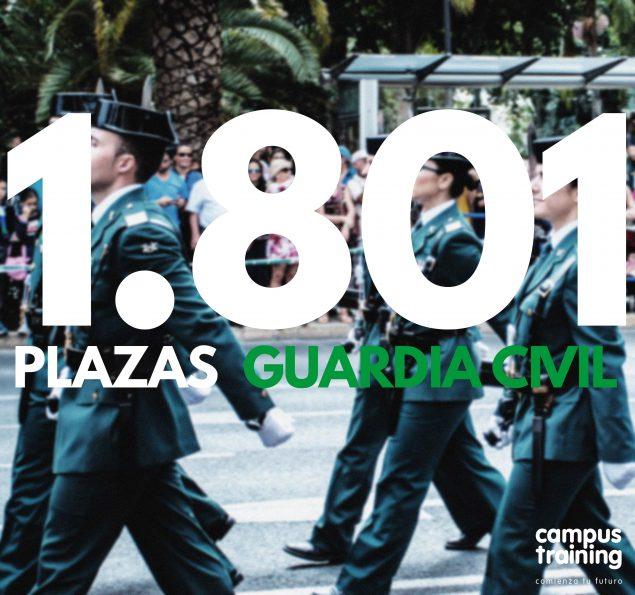 ¿Dónde preparar las Oposiciones de Guardia Civil 2017?