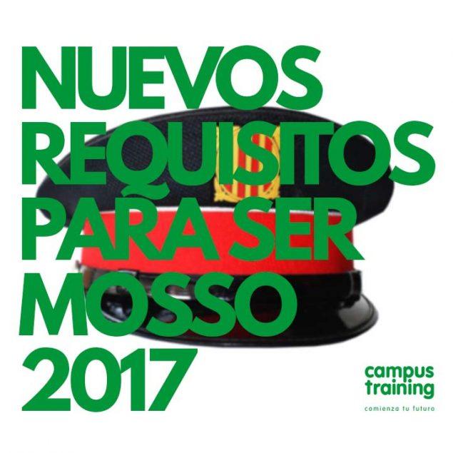 Requisitos para ser Mosso en 2017