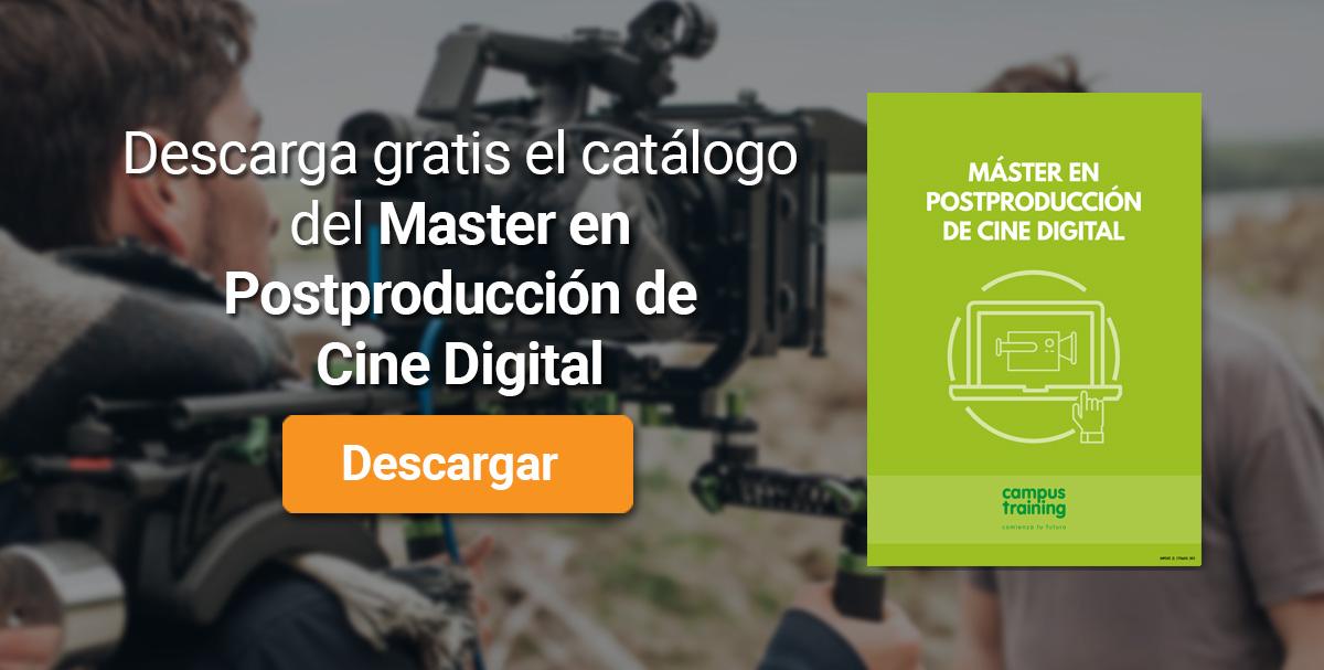 Banner Máster en Postproducción de Cine Digital