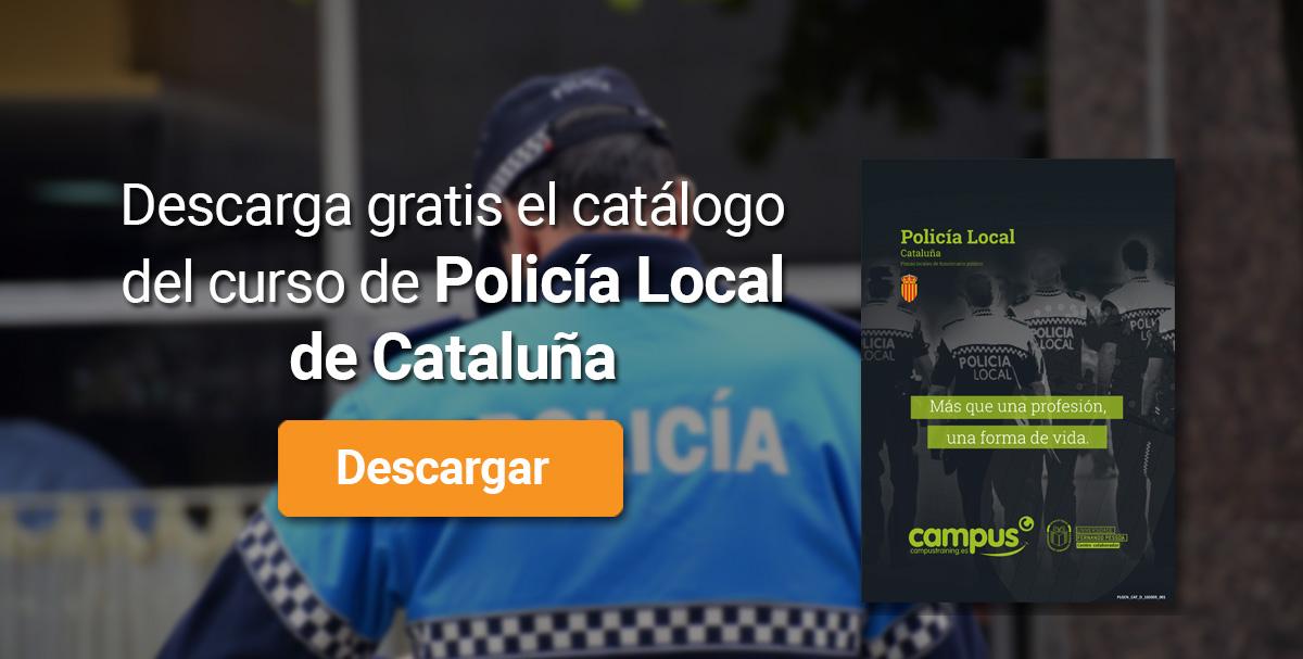 Banner policía Local de Cataluña