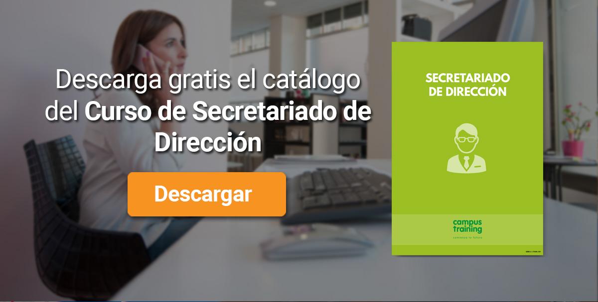 Banner Secretariado de Dirección