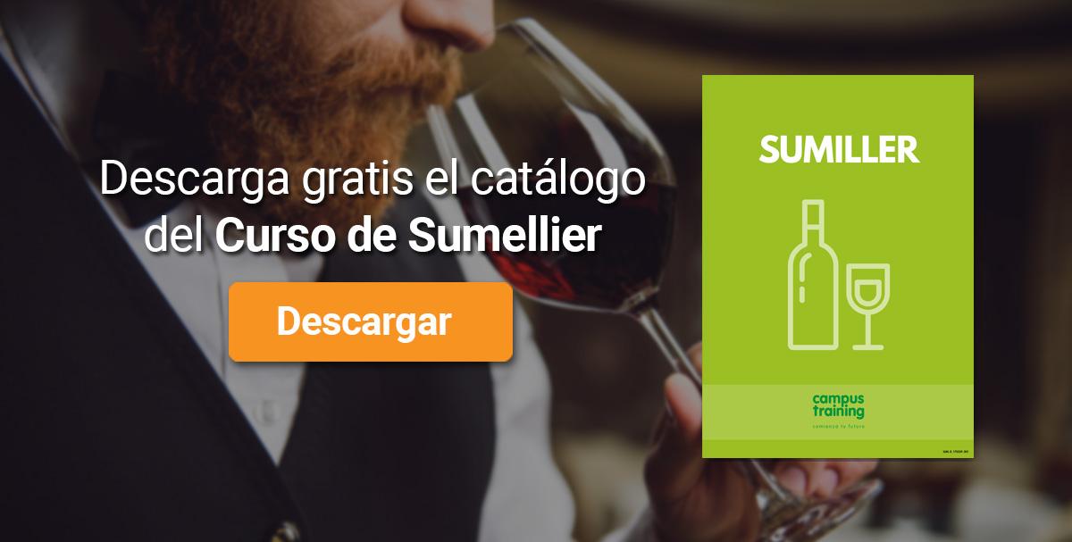 Descarga el catálogo para el curso: Curso de Sumiller
