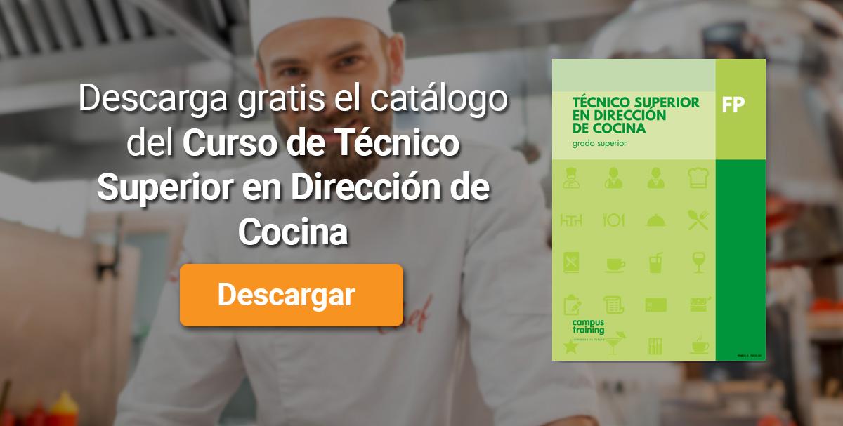 Descarga el catálogo para el curso: Pruebas Libres de Técnico Superior en Dirección de Cocina