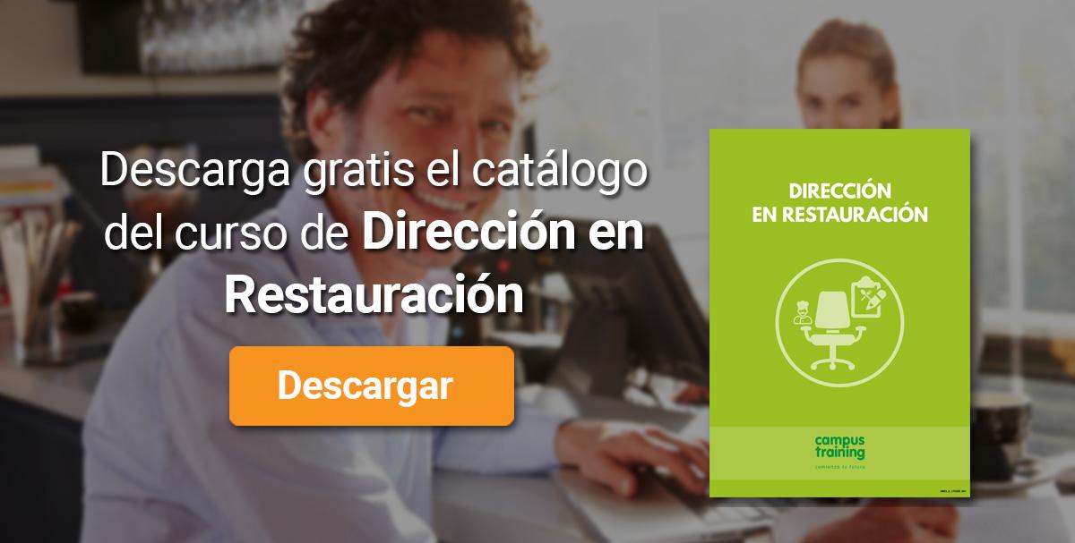 Descarga el catálogo para el curso: Curso de Dirección en Restauración