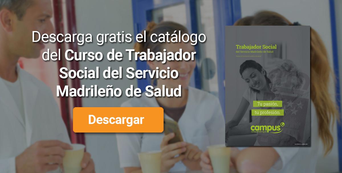 Trabajador social servicio madrileño de salud