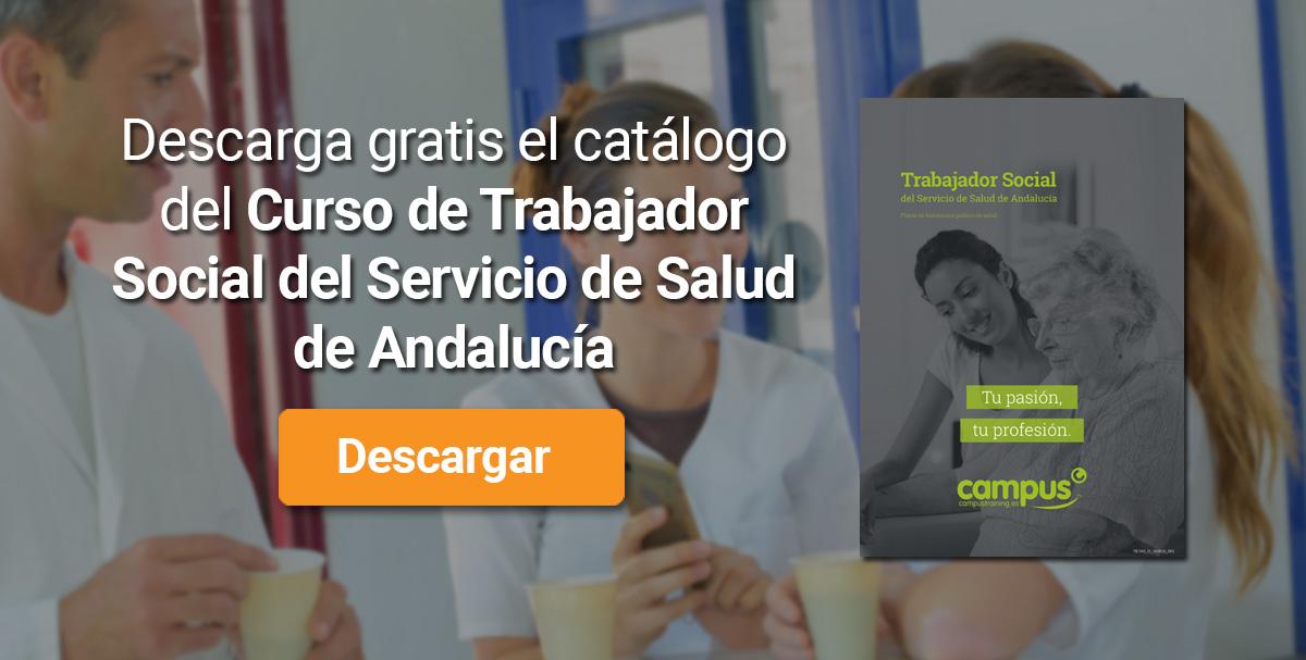 Descarga el catálogo para el curso: Oposiciones para Trabajador Social en el SAS