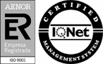Empresacertificada por Aenor - Iqnet