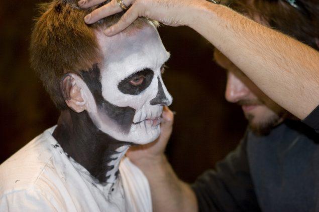 Técnicas de maquillaje en caracterización y FX