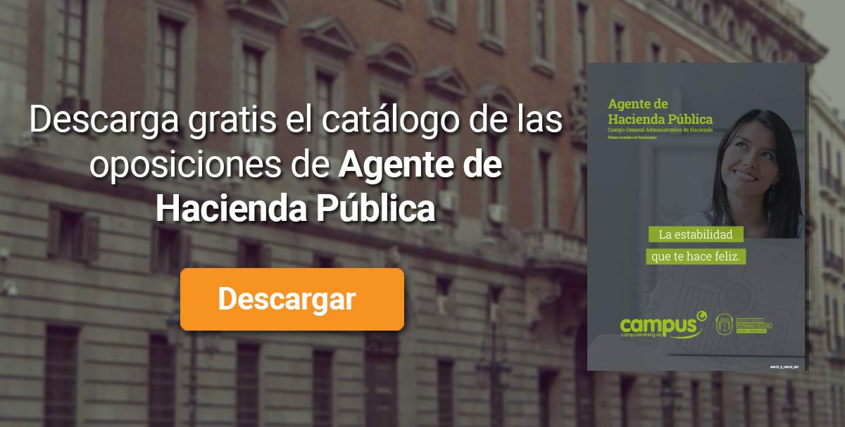 Descarga el catálogo para el curso: Oposiciones Agente de Hacienda
