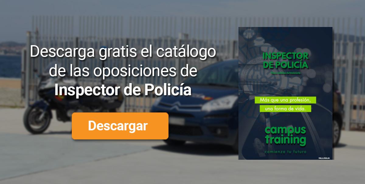 Descarga el catálogo para el curso: Oposiciones de Policía Nacional Escala Ejecutiva
