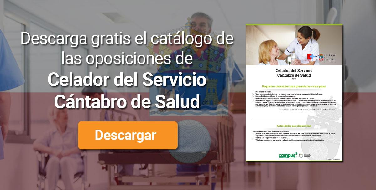 Descarga el catálogo para el curso: Oposiciones de Celador del Servicio Cántabro de Salud