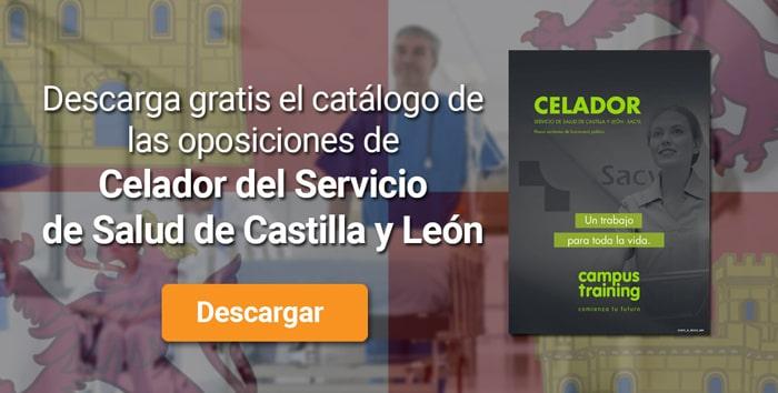 Descarga el catálogo para el curso: Oposiciones para celadores en el SACYL