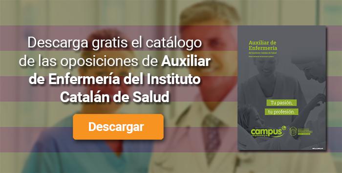 Descarga el catálogo para el curso: Oposiciones para Auxiliar de Enfermería en el ICS