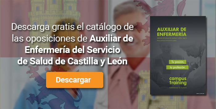 Descarga el catálogo para el curso: Oposiciones para Auxiliar de Enfermería en el SACYL