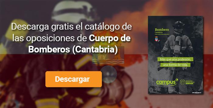 Descarga el catálogo para el curso: Oposiciones para bomberos en Cantabria