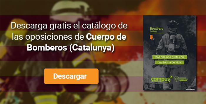 Descarga el catálogo para el curso: Oposiciones para bomberos en Catalunya