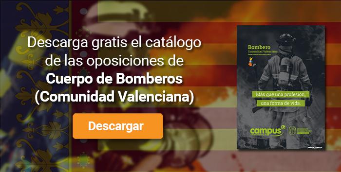 Descarga el catálogo para el curso: Oposiciones para bomberos en la Comunidad Valenciana