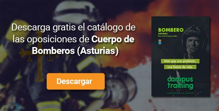 Descarga el catálogo para el curso: Oposiciones para bomberos en Asturias