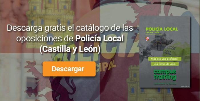 Descarga el catálogo para el curso: Oposiciones para Policía Local en Castilla y León