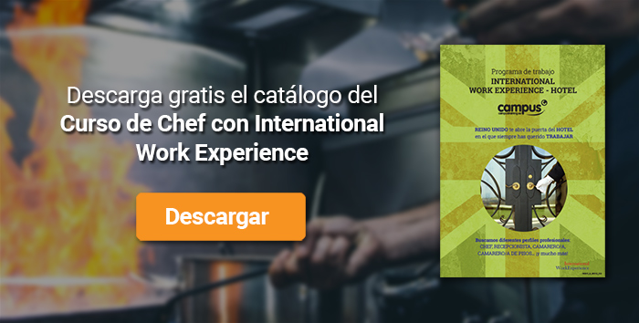Descarga el catálogo para el curso: Chef con International Work Experience