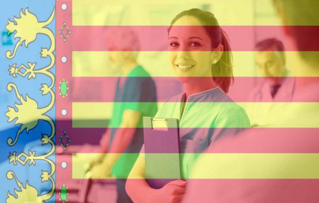 auxiliar enfermeria comunidad valenciana