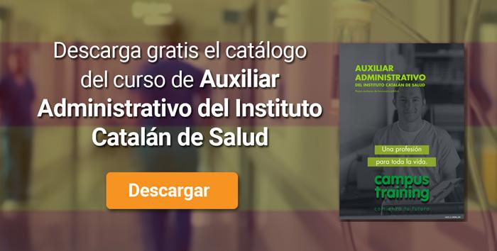 Descarga el catálogo para el curso: Oposiciones para Auxiliar Administrativo en el ICS