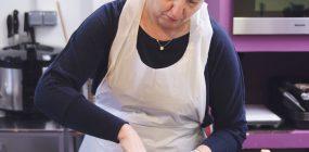 Preparamos la receta tortilla paisana en nuestro taller de cocina