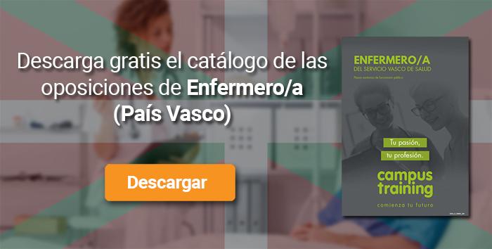 Descarga el catálogo para el curso: Oposiciones de Enfermería País Vasco 2019