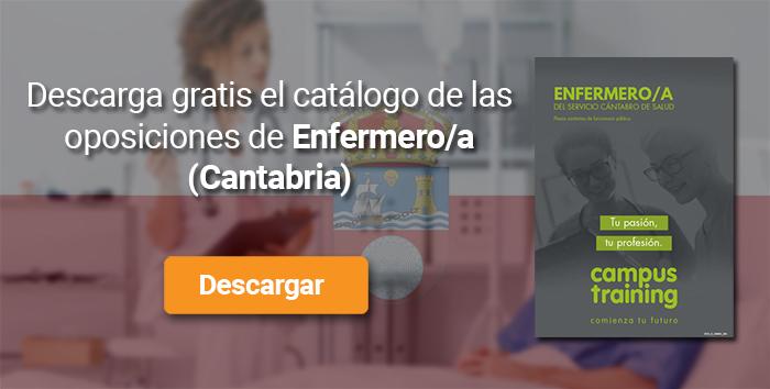 Descarga el catálogo para el curso: Oposiciones Enfermería Cantabria