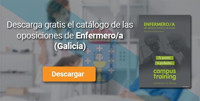 Descarga el catálogo para el curso: Oposiciones Enfermería Galicia