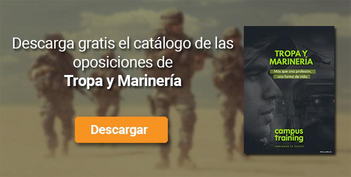 Descarga el catálogo para el curso: Oposiciones Tropa y Marinería