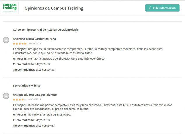Campus Training opiniones foros