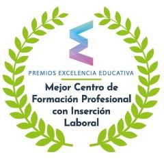 Premio Excelencia Educativa - mejor Centro de Formación Profesional en Inserción Laboral