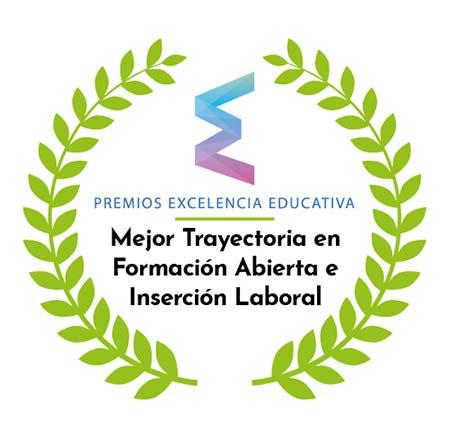 Mejor Trayectoria en Formación Abierta e Inserción Laboral 2019