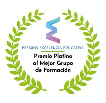 Premio platino al mejor grupo de formación